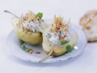 Pears with Blue Cheese Stuffing recipe