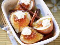 Pears with Orange Marmalade and Cinnamon recipe