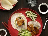Peking Duck with Accompaniments recipe