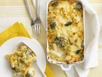 Penne and Broccoli Gratin recipe
