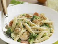 Penne and Chicken Pasta Bowl recipe