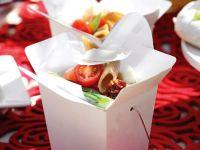 Penne Salad with Tomato and Mozzarella recipe