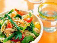 Penne with Mixed Vegetables recipe