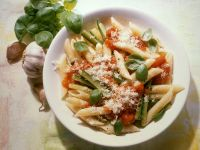 Penne with Tomato and Zucchini recipe