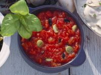 Penne with Tomato Sauce recipe