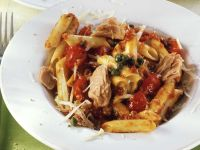 Penne with Tuna recipe