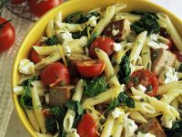 Penne with Tuna and Goat's Cheese recipe