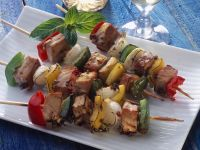 Pepper and Fish Kebabs recipe