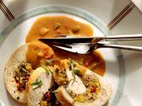 Pepper-Filled Turkey Roll recipe