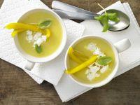 Pepper-Polenta Soup recipe
