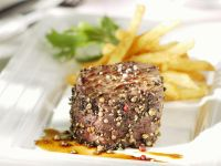 Pepper Steak with Fries recipe