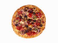 Pepperoni Supreme Pizza recipe