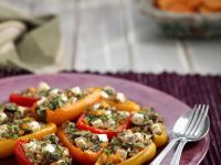 Peppers Filled with Grains recipe