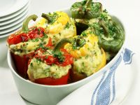 Peppers Stuffed with Cheese Potatoes recipe