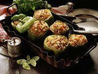 Peppers Stuffed with Rice recipe