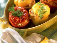 Peppers Stuffed with Sauerkraut recipe