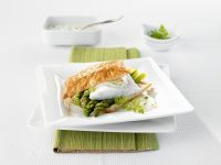 Perch and Asparagus in Puff Pastry recipe