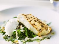 Perch Fillet with Cumin and Savoy with Horseradish recipe