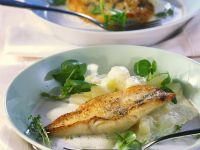 Perch Fillets with Kohlrabi recipe