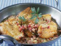 Perch with Creamy Wine Sauce recipe