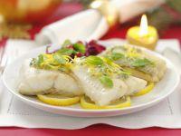 Perch with Lemon Sauce recipe