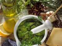 Pesto Alla Genovese recipe