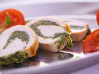 Pesto Filled Chicken recipe