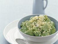 Pesto Potato Salad with Egg recipe