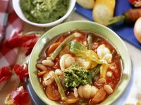Pesto Soup Bowls recipe