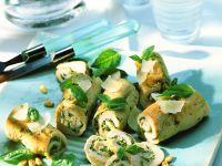 Pesto Turkey Roll-ups recipe