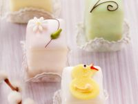 Petit Fours for Easter