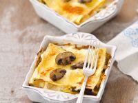 Petite Mushroom Lasagnas