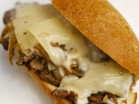 Philly-style Steak Hoagie with Cheese recipe