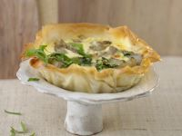 Phyllo Pastry Vegetable Tart recipe