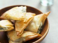 Phyllo Savoury Pastries recipe