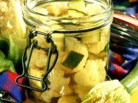 Pickled Cauliflower and Zucchini