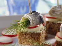 Pickled Herring Appetizers