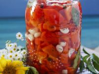 Jar of Vinegary Peppers recipe