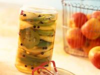 Pickled Peppers with Apple