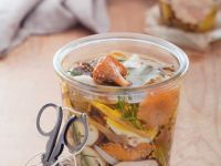 Pickled Woodland Funghi recipe