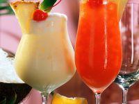 Piña Colada and Planters Punch Cocktail recipe