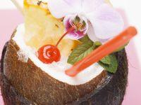 Pina Colada in Coconut recipe