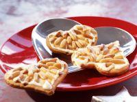 Pine Nut and Vanilla Shortbread Hearts recipe