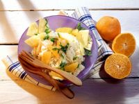 Pineapple and Clementine Coleslaw recipe