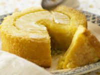 Pineapple Cakes with Syrup recipe