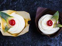 Pineapple, Coconut and Rum Cupcakes recipe