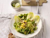 Pineapple-Endive Salad with Cashews recipe