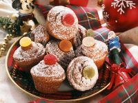 Pineapple Filled Gingerbread Muffins recipe