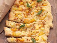 Pineapple Potato-flatbread Pizza recipe