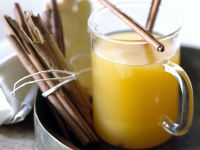 Pineapple Punch with Ginger and Cinnamon recipe